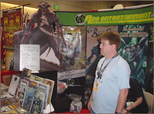Ape's booth at SDCC '07
